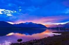 Sunset, near Petersburg, southeast Alaska USA