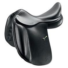 Amerigo Vega Dressage Saddle - Dressage Saddles from SmartPak Equine, like sitting in a chair, on a horse.