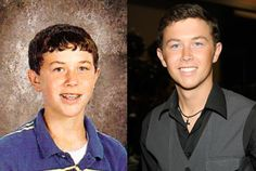 scott mcreery young high school yearbook photo 2007 red carpet 2012 he'll always be beautiful no matter what