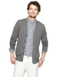 Cotton cardigan   Gap - gap.com #mensoutfits