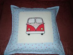 One of my campervan cushions, the boy version!