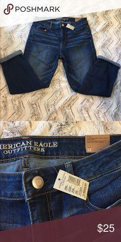 NWT American Eagle Hi Rise Jegging Crop Jeans NWT American Eagle hi rise jegging crop jeans. American Eagle Outfitters Jeans Ankle & Cropped