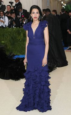 Huma Abedin from 2017 Met Gala: Red Carpet Arrivals