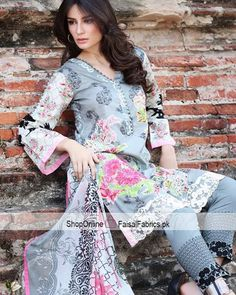 CHARIZMA  Lawn Range Vol.1 2017  3Piece Embroidered Fine Lawn with Bamber Chiffon Dupatta  Price: 3495 PKR  Shop online at: http://ift.tt/2l3tcJv  Cash On Delivery Inbox your details OR WHATSAPP / VIBER / LINE (92)3333142222 #Charizma #LuxuryLawn #Lawn2017 #shopping #Lawn #shopnow #OnlineShopping #FaisalFabricspk