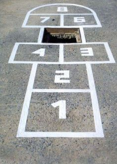 Hey Kiddo, why don't you see if the neighborhood bully would like to come play hopscotch at our house ;)