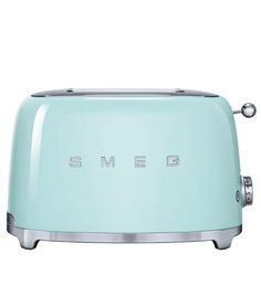 Based in Italy, Smeg is known for its retro and durable kitchen appliances. Featuring an energy-efficient design, this Smeg 2 Slice Toaster is both fun to use and easy on the eyes. $139.95. Buy her...
