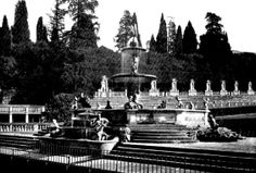 Boboli Garden in Florence . Have a look at this site .
