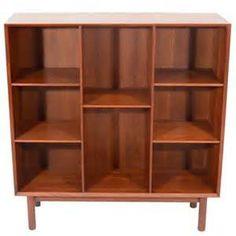 Peter Hvidt Teak Bookcase