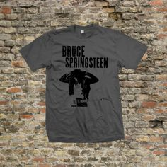 Bruce springsteen T Shirt 100% cotton  725 by Stooble on Etsy