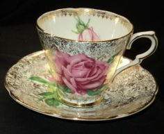 Collingwoods England Gold Rose Chintz TEA CUP AND Saucer | eBay