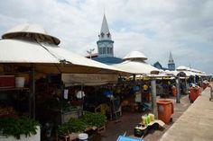 Belém - O Mercado Ver-o-Peso oferece os mais variados sabores e aromas do Pará. A imensa feira livre às margens da Baía do Guajará reúne centenas de barracas (Wilson Dias/Agência Brasil)
