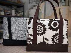 Free tote bag pattern from j-caroline