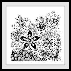 de zendoodle html art_galerie. Doodles Zentangles, Tangle Doodle, Zentangle Drawings, Zen Doodle, Zentangle Patterns, Doodle Art, Drawing Heart, Tumblr Flower, Simple Artwork