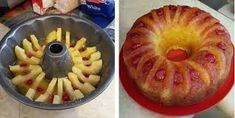 INGREDIENTS 1 – Duncan Hines Pineapple Supreme Cake Mix 5 – pineapple slices (no sugar added) 5 – maraschino cherries 1 – Jell-O Vanilla Sugar free Instant Pudding (powder) 1 – 20oz can of Crushed Pineapples (no sugar added) 1 tsp dark brown sugar DIRECTIONS Mix cake mix (not prepared) wit…
