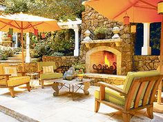 outdoor fireplace, must have