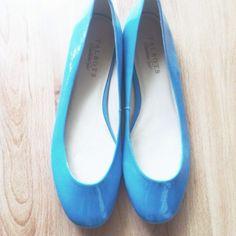 "Spotted while shopping on Poshmark: ""Talbots Blue Leather Ballet Flats""! #poshmark #fashion #shopping #style #Talbots #Shoes"