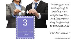 3 Reasons Why You Need a Team