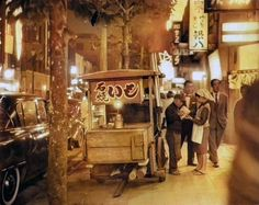 東京五輪アーカイブ写真の自動色付け | ツイばむ Mobile Shop, Tokyo, Fair Grounds, Japan, History, Retro, Sweet Potato, Life, Historia