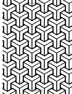 Free Vintage Coloring Book Pages Retro Patterns Geometric Design Vintage Wallpaper Seamless Background Geometric Tattoo Sleeve Designs, Geometric Tattoo Pattern, Geometric Tattoos Men, Geometric Mandala Tattoo, Armband Tattoo Design, Geometry Tattoo, Geometric Pattern Design, Geometry Pattern, Graphic Patterns