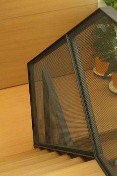 Návrh interiéru, detail schodiska - rodinný dom v Starom Meste, Bratislava - Interiérový dizajn / Interior detail by Archilab Bratislava