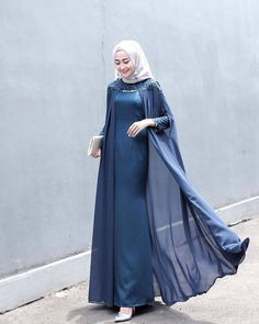 brides maid dresses hijab Dress Gaun Bridesmaids H - bridesmaiddresses Hijab Gown, Kebaya Hijab, Hijab Dress Party, Hijab Style Dress, Kebaya Dress, Kebaya Muslim, Muslim Dress, Dress Muslim Modern, Gaun Dress