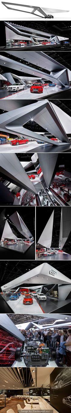 Audi Paris 2014 Schmidhuber exhibition design - created on 2014-10-24 13:53:17