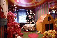 Paramount Hotel, Playroom (Designed by Gary Panter)