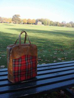 Tartan picnic kit