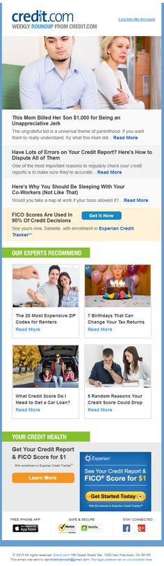 credit.com newsletter
