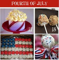 Creative 4th of july food