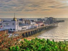 The Pier at Clacton-On-Sea-Essex England