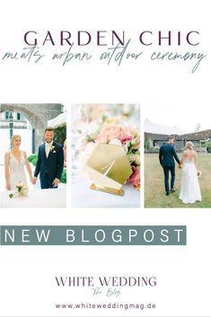 Suchst Du nach Inspirationen für Deine Gartenhochzeit? Dann bist Du hier genau richtig. Finde tolle Ideen rund um Deine Outdoor Wedding! Ob die Wahl des richtigen Brautkleids, das Bräutigam Outfit, Hochzeitsdekoration, Brautstrauß oder Unterhaltung für die Gäste unter dem Tipi Zelt. Klicke hier um alles über die Hochzeitsplanung für Deine Hochzeit 2022 zu erfahren! Foto: Heike Moellers Photography #WhiteWeddingMag #Gartenhochzeit Outdoor Ceremony, Place Cards, Place Card Holders, Chic, Wedding, Newlyweds, Teepee Tent, Registry Office Wedding