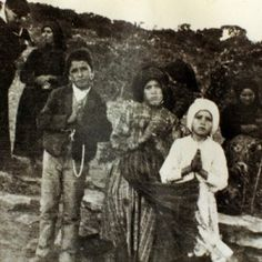 The 3 children of Fatima  Francisco, Lucia and little Jacinta