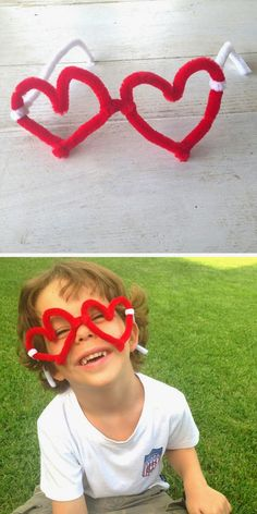 mommo design: WITH A PIPE CLEANER...glasses