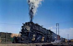 "The Denver & Rio Grande Western (D&RGW) was a legendary western ""fallen flag"" which battled the Rocky Mountains through Colorado and Utah. California Zephyr, Train Engines, Train Car, Winter Park, Steam Engine, Steam Locomotive, Rio Grande, Marketing Ideas, Business Marketing"