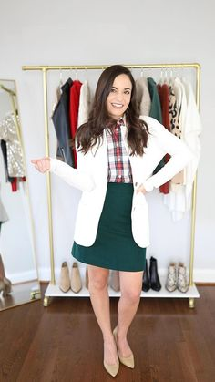 Five petite friendly holiday outfits   holiday outfits   petite style   holiday style   winter outfits   dressy outfits   petite fashion blogger Casual Winter Outfits, Dressy Outfits, Winter Fashion Outfits, Cute Outfits, Dressy Winter Fashion, Holiday Outfits Women, Skirt Outfits, Mode Hipster, Petite Outfits