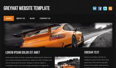 """""""greyhat"""" - follow the link to 50 free Dark HTML Website Templates"""