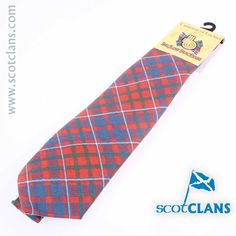 Cameron of Lochiel Ancient Tartan Tie. Free Worldwide Shipping Available