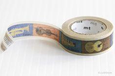 Mini MT Kids Theme INSTRUMENT Washi Masking Tape $3.50