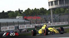 #01| F1 2016 | Karriere | Training Australien | German | 4k/HD|