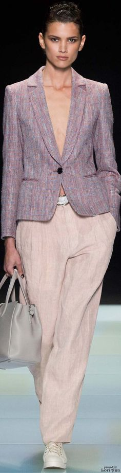 Giorgio Armani from the Menswear Collection 2016