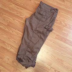 Maurice's Capris Lighter Brown Capris. Size 20. Maurices Pants Capris