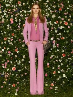 Gucci Cruise 70s style clothing
