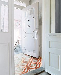 love this for an entryway cement tiles