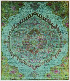 Rug by ABC Carpet & Home. Perfect for a Moroccan mint tea party.