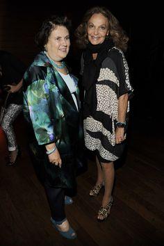 Suzy Menkes Diane Von Furstenberg Photostream