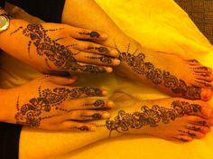 Henna design!!