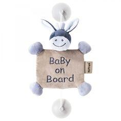 Cartel Bebé a bordo del Burrito Alex de Nattou