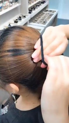 Easy Hairstyles For Long Hair, Diy Hairstyles, Hairstyles Videos, Ballet Hairstyles, Shaved Hairstyles, Undercut Hairstyles, Formal Hairstyles, Bun Short Hair, Wedding Hairstyles