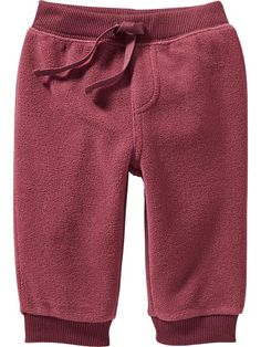 Micro Performance Fleece Pants for Baby | Old Navy